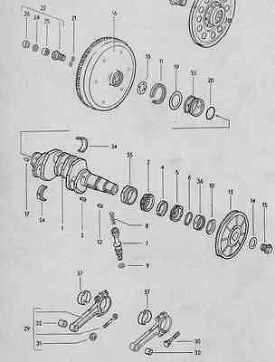 Volkswagen Beetle Classic Parts Manual 1950's - 1972 RARE  Exploded Views Parts