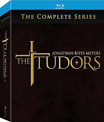 The Tudors: The Complete Series [Blu-ray] New & Sealed!