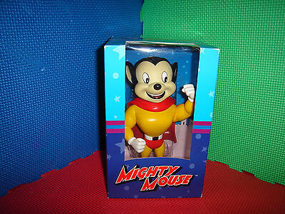 Mighty Mouse Vinyl Figurine Dark Horse Deluxe  New In Box