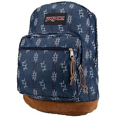 """New JanSport Right Pack World 15"""" Laptop Backpack Authentic Tokyo Nights Navy"""
