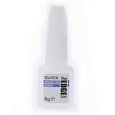 The Edge Quick Dip Nails Acrylic System Brush on RESIN 6g OFFICIAL STOCKISTS