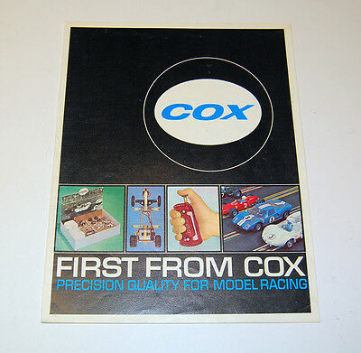 SCARCE ORIGINAL COX 1965 FULL COLOR DEALER CATALOG IN VERY NICE CONDITION