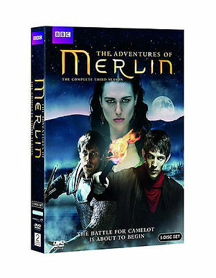 The Adventures of Merlin The Complete Third Season (5 disc set) - used