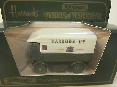 Y29 WALKER VAN HARRODS ISSUE 2 MATCHBOX MOY MODELS OF YESTERYEAR