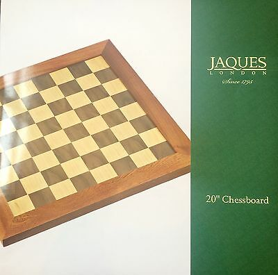 Jaques 20 Inch Chess Board