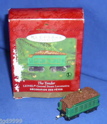 Hallmark Ornament Lionel Trains General Steam The Tender 2000 Used Damaged Box