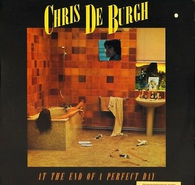 CHRIS DE BURGH at the end of a perfect day AMLH 64647 uk a&m 1977 LP PS EX/EX