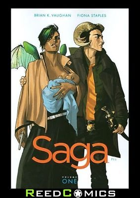 SAGA VOLUME 1 GRAPHIC NOVEL New Paperback Collects Issues #1-6