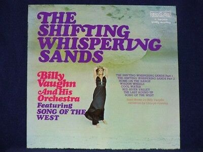 BILLY VAUGHN the shifting whispering sands LP PS EX/EX uk contour 2870 176