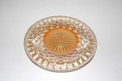"""Set of 5 Carnival Glass Plates (6"""" round)"""