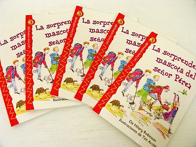 In Spanish lot 5 copies guided group reading level 3 kids books learn to read