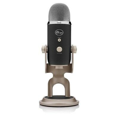 Blue Microphones Yeti Pro Multi Pattern USB Podcasting Microphone