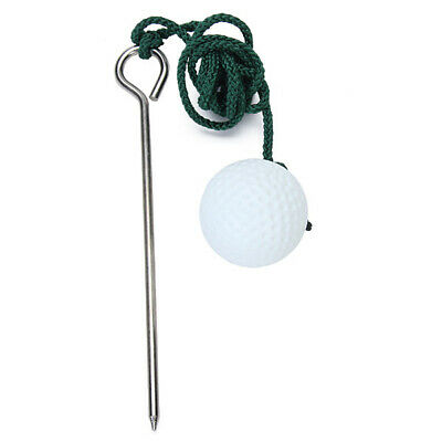 Rope Golf Ball Hit Shot Training Practice Aid Swing Trainer Sports