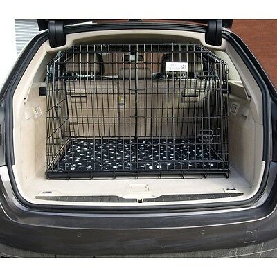 BMW 5 SERIES SLOPING CAR DOG CAGE ESTATE & 4x4 CAGES TRAVEL CRATE PUPPY GUARD