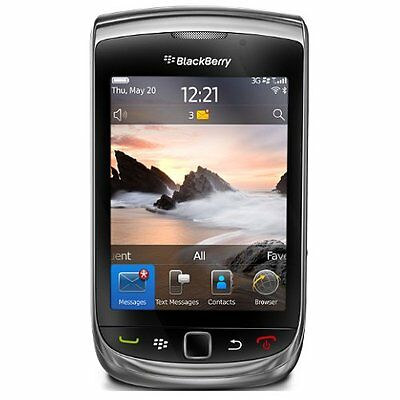 BlackBerry Torch 9800 - 4GB - Black (AT&T) Smartphone (In Good Condition)