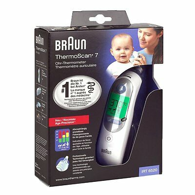 Braun ThermoScan IRT 6520 Digital Baby Child Doctor Ear Temperature Thermometer