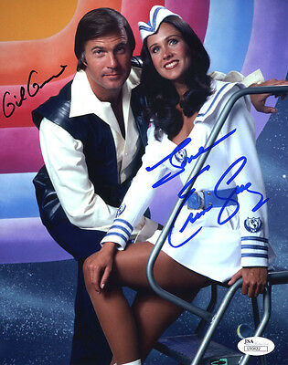 """(SSG) GIL GERARD & ERIN GRAY Signed 8X10 """"Buck Rogers"""" Photo with a JSA COA"""