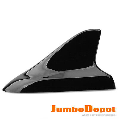 1Pcs Shark Fin Buick Style Dummy Antenna Decor Black w/ 3M Tape For Car Auto Hot