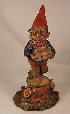 Tom Clark Gnome '85~1061 Happy-R~Ed 30~Don't Worry Get Happy~Vintage Collectible