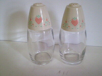 Gemco Forever Yours Corning Corelle Compatible salt and pepper shaker set