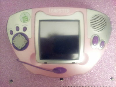 LeapFrog Leapster Multimedia Learning System- Pink with Blue Case