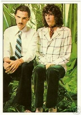 Sparks Ron keyboards Russell Mael Vocals Panini German Rock Music Card #35