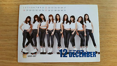 SNSD Girls' Generation Official Season 2 Star Card Name Foil Rare Group GG2-087