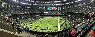 2 or 4 - 2015 Saints Season Tickets Section 650 Row 5 - 2015 Season only