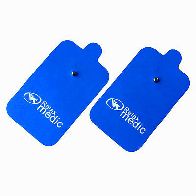20 Pcs High quality  Electrode Pads For Tens machine Slimming massager Blue