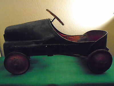 1950's Garton Metal Fire Chief  Pedal Car