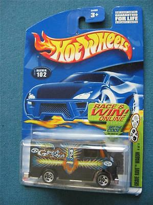 Hot Wheels #102 Grave Rave Wagon Grave Rave Series 4 of 4 - 2002