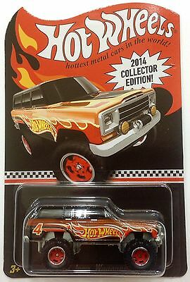 2014 Hot Wheels TOYS R US ~ Mail In PROMO '88 JEEP Wagoneer 4X4 Real Riders