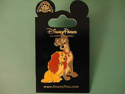 Disney's Lady and the Tramp - Look Of Love - Lady and Tramp Pin  *NEW ON CARD*
