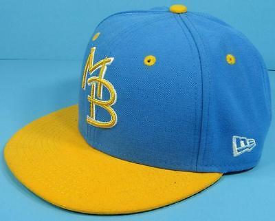 MYRTLE BEACH PELICANS *MINOR LEAGUE BASEBALL *NEW ERA* Fitted Cap Hat 6 7/8