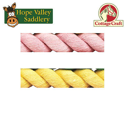 Cottage Craft Cotton Lead Rope for Horses and Ponies (R90)