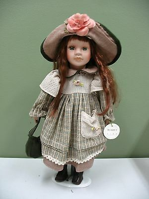 Handpainted Windsor Collection TINA Porcelain Doll