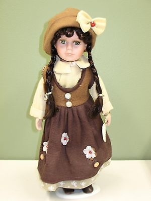 Handpainted Windsor Collection ZOE Porcelain Doll