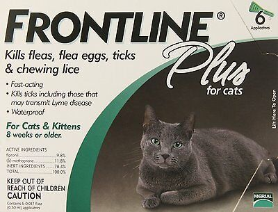 Frontline Plus 6 Pack For Cats
