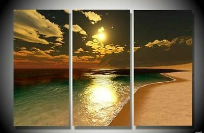 MODERN ABSTRACT HUGE WALL DECO ART OIL PAINTING (NO FRAME)