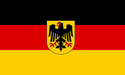 GERMAN EAGLE FLAG 3' x 2' Germany State Flags Europe European