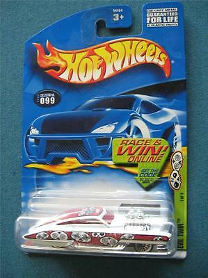 Hot Wheels #099 Evil Twin Grave Rave Series 1 of 4 - 2002