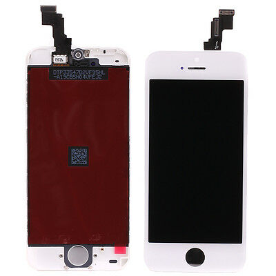 For iPhone 5C LCD Display Touch Screen Digitizer Assembly Replacement White