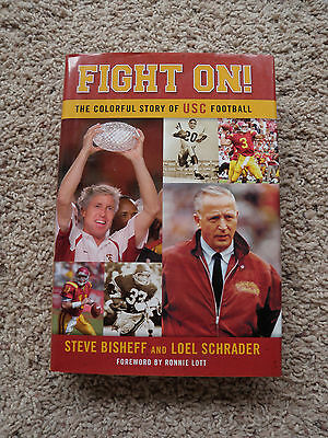 Fight On! Colorful Story of USC Football Book University of Southern California