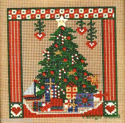 """Mill Hill Beads Buttons Counted Cross Stitch kit 5"""" x 5"""" ~ HOLIDAY SPLENDOR #228"""
