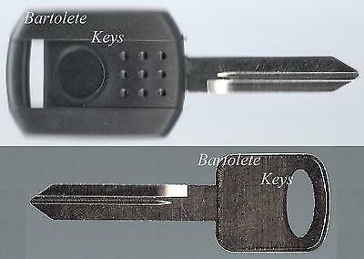 Transponder Key Blank for 2005 2006 2007 2008 05 06 07 08 Mercury Montego *