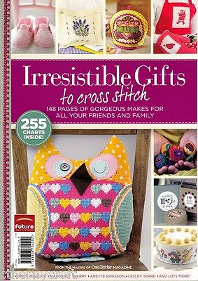 CrossStitcher Irresistible Gifts Magazine 2011 issue - 250!! Charts Inside