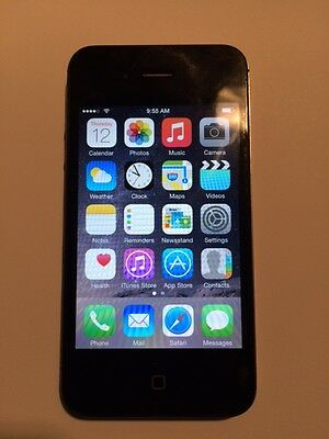 Apple iPhone 4s -16GB - black(Verizon) w/ all accesories and cases!!!