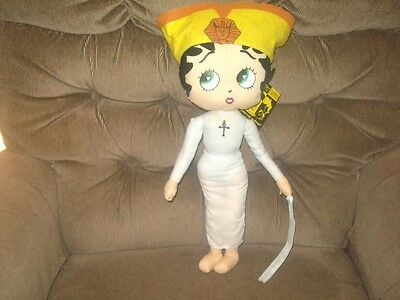 """KellyToy 17"""" Betty Boop Halloween Collection MUMMY BETTY Soft Bodied Doll MWT!"""