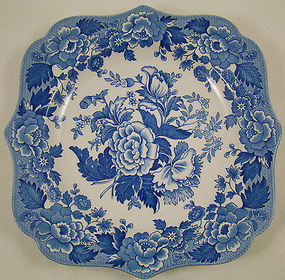 """Lovely Spode Blue room Collection British Flowers Poppy Plate 9"""" #1"""