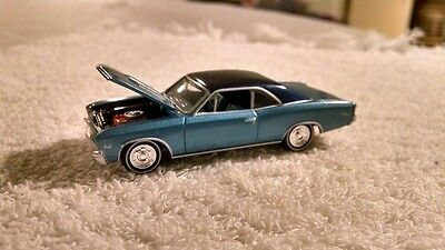 Johnny lightning 1967 Chevy Chevelle SS. Rare,mint,HTF! 1/64 scale '04 edition.